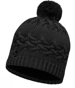 Buff - Savva - Knitted & Polar Hat - Black