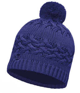 Buff - Savva - Knitted & Polar Hat - Mazarine Blue