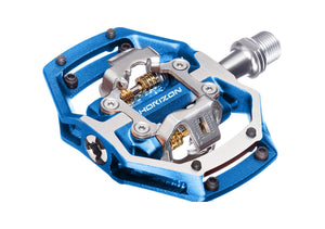 Nukeproof Horizon CS - CrMo Trail - Clipless Pedals - Blue