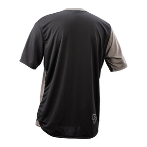 Race Face Indy Short Sleeve Jersey - Charcoal / Black - Back