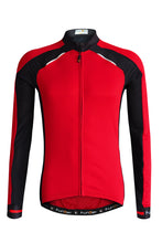 Load image into Gallery viewer, Funkier Strike Summer Long Sleeve Jersey - Red