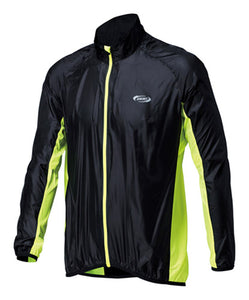 BBB PocketShield Cycling Rain Jacket BBW-147 - Neon Yellow
