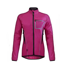 Load image into Gallery viewer, Funkier Ladies Waterproof Cycling Jacket - J1403 - Pink