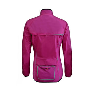 Funkier Ladies Waterproof Cycling Jacket - J1403 - Pink