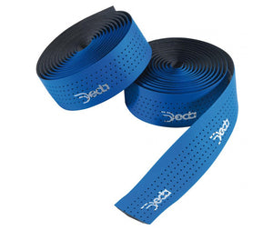 Deda Mistral Leather Effect - Perforated Bar Tape - Blue