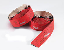 Load image into Gallery viewer, Deda Mistral Leather Effect - Perforated Bar Tape - Red