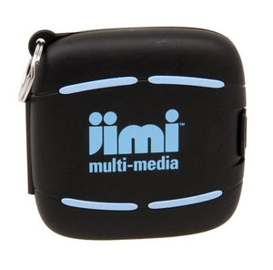 Jimi Multi Media Water Resistant Compact Case / Holder - Black