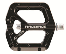 Load image into Gallery viewer, Race Face AEffect Flat Platform Pedals - Black