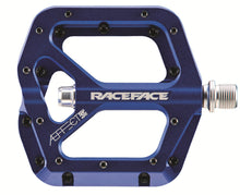 Load image into Gallery viewer, Race Face AEffect Flat Platform Pedals - Blue