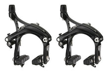 Load image into Gallery viewer, Tektro R539 Long Drop 57mm Road Bike Brake Calipers - Black