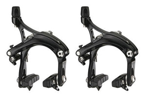 Tektro R539 Long Drop 57mm Road Bike Brake Calipers - Black