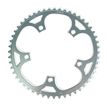 Load image into Gallery viewer, Stronglight Dural 5083 Outer Double Chainring Shimano 9/10 Speed - Silver