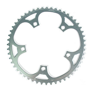 Stronglight Dural 5083 Outer Double Chainring Shimano 9/10 Speed - Silver