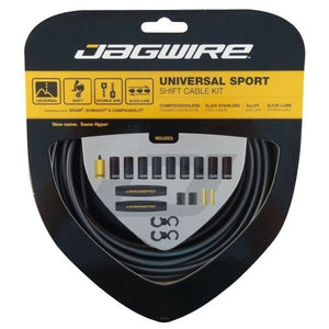Jagwire Universal Sport Shift - Gear - Cable Set  - Ice Grey