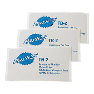 Park Tool TB-2 Patch Kit - Bike Puncture Repair Patches x 3
