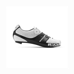 Giro Factor Techlace - Road Bike Cycling Shoes - White / Black