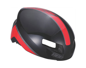 BBB Tithon Road Cycling Helmet - Gloss Black / Red