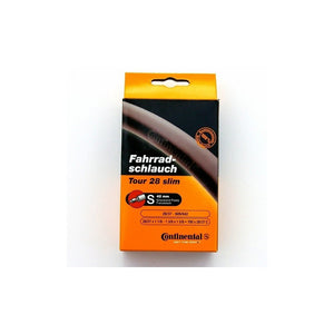 Continental Tour 28 Slim Road Bike Inner Tube 700c x 28-37 Presta - 42mm