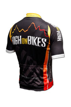 Load image into Gallery viewer, High on Bikes V2 - Short Sleeve Cycling Jersey