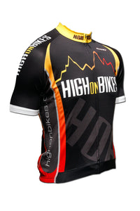 High on Bikes V2 - Short Sleeve Cycling Jersey