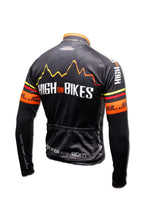 Load image into Gallery viewer, High on Bikes V3 - Long Sleeve Cycling Jersey