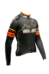 High on Bikes V3 - Long Sleeve Cycling Jersey