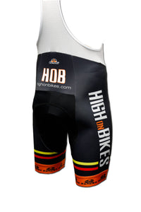High on Bikes V3 - Coolmax Lycra Cycling Bib Shorts