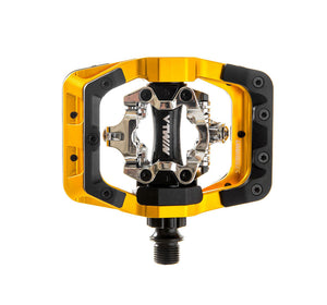 DMR V-Twin Clipless MTB Pedals - Gold