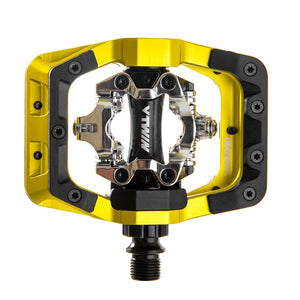 DMR V-Twin Clipless MTB Pedals - LemLime