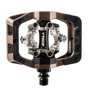 DMR V-Twin Clipless MTB Pedals - Nickle Grey