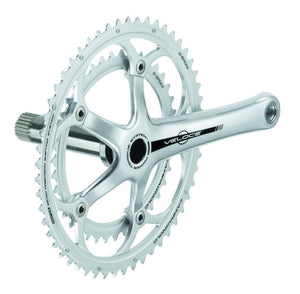 Campagnolo Veloce Alloy 10s Double Power Torque Crankset - Silver