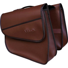 Load image into Gallery viewer, Velox Vintage Rear Pannier Bag - Brown