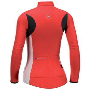 2011 De Marchi Ladies Contour Cycling Jersey - Red