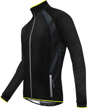 Load image into Gallery viewer, Funkier Soft Shell Windstopper Cycling Jacket - Black