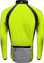 Load image into Gallery viewer, Funkier Soft Shell Windstopper Cycling Jacket - Yellow