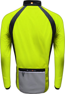 Funkier Soft Shell Windstopper Cycling Jacket - Yellow