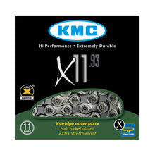 Load image into Gallery viewer, KMC X11-93 - 11 Speed Road / MTB Chain