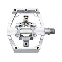 Load image into Gallery viewer, HT Components X2 - DH Clipless Pedals - Silver
