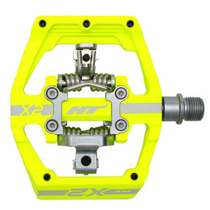 HT Components X2 - DH Clipless Pedals - Yellow
