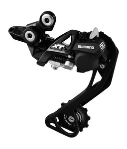 Shimano Deore XT M786 Shadow + Rear Mech / Derailleur - Black - SGS - Long