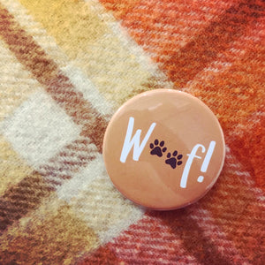 """Pawsome"" Individual 55mm Button Badge"