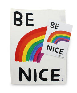 Be Nice - Tea-Towel