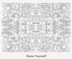 Know Yourself - Colouring as t**rapy  (TSOL)