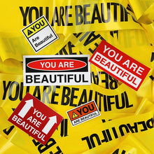 Load image into Gallery viewer, Warning Sticker Kit - You are Beautiful