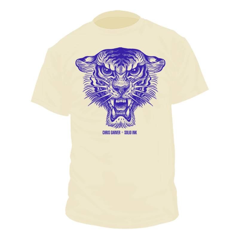 Chris Garver | Blue Tiger T-Shirt