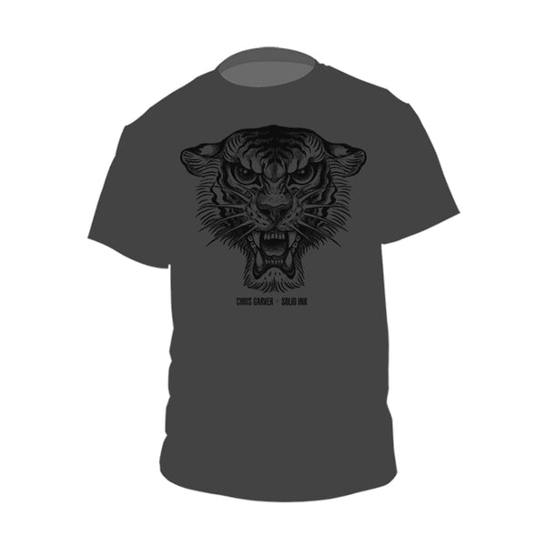 Chris Garver | Black Tiger T-Shirt