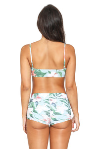 Short Surf Lily Green