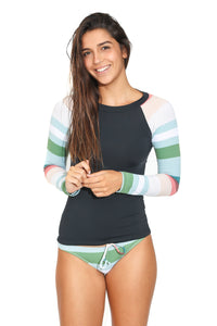 Malha Surf Black n Stripes
