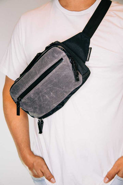 STONE - DADSFANNY - Diaper Bag Fanny Pack