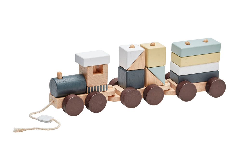 KIDS CONCEPT - Train met blokjes